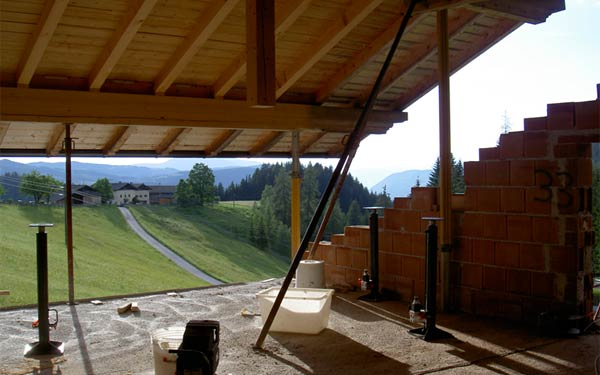 Dachanhebung Rooftec Hydraulische Dachanhebung Dachaufstockung